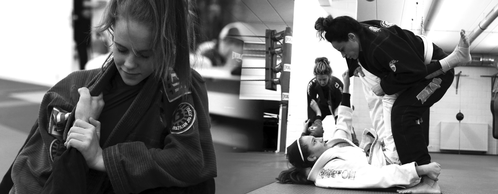 Brazilian Jiu Jitsu at Brasa Belgium Leuven Martial Arts atmosphere Women on the Mat